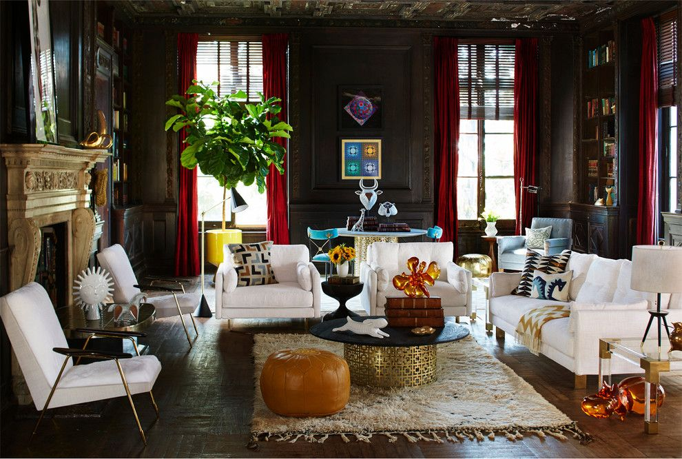 Www.raymourflanigan.com for a Transitional Living Room with a Transitional and Living Room by Jonathan Adler