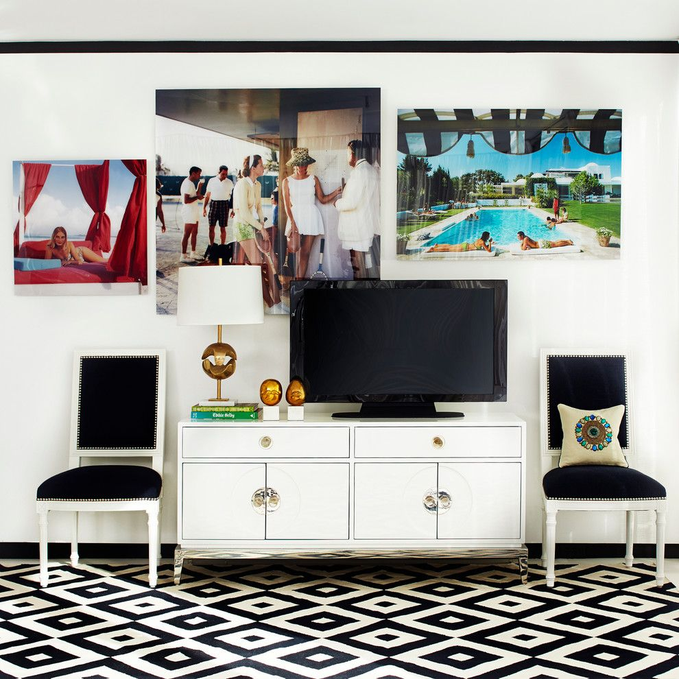 Www.raymourflanigan.com for a Transitional Living Room with a Transitional and Luxe Living Spaces by Jonathan Adler