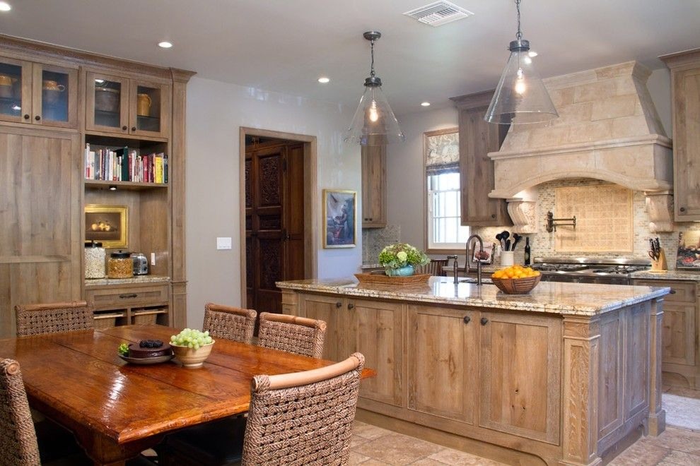 Www.twinspires.com for a Rustic Kitchen with a Kitchen Island and Charmean Neithart Interiors, Llc. by Charmean Neithart Interiors