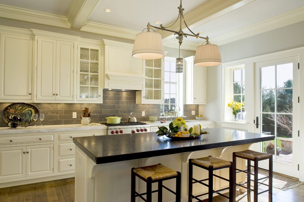 Www.twinspires.com for a Traditional Kitchen with a Pendant and Pennsylvania Farm House by Dewson Construction Company