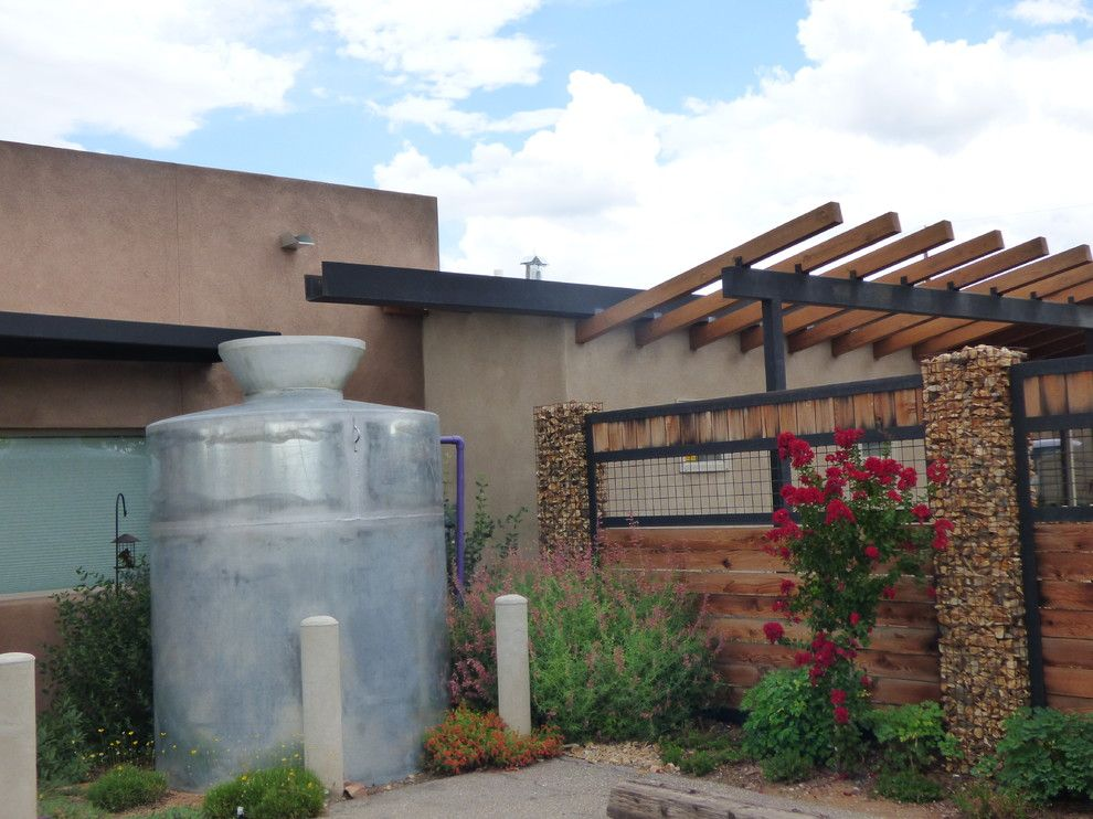 Xeric for a  Spaces with a Rainwater Cistern and Waterwise Landscapes Office with Xeric Garden and Cistern by Waterwise Landscapes Incorporated