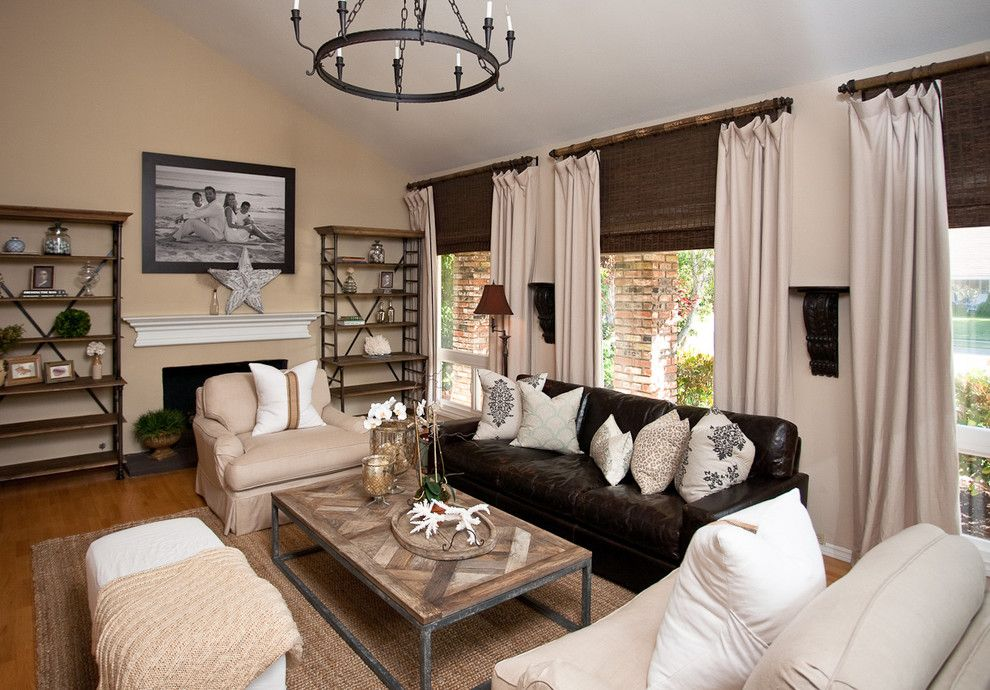 Zack White Leather for a Contemporary Living Room with a Upholstered Chair and Blackband Design by Blackband Design