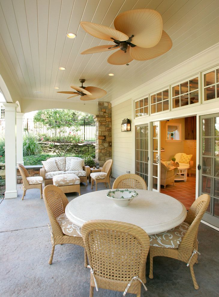 Zanos for a Traditional Patio with a Cottage and Pool Cabana by Trueblood Design Build