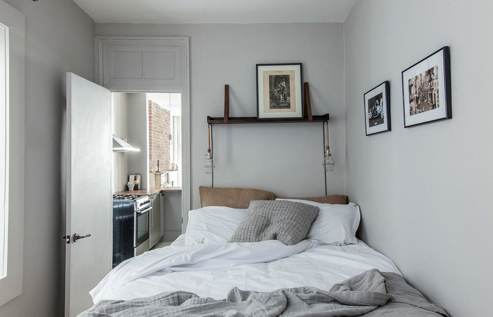 Zillow La Jolla for a Eclectic Bedroom with a Shades of Gray and Mellow Monochrome Residence by the New Design Project