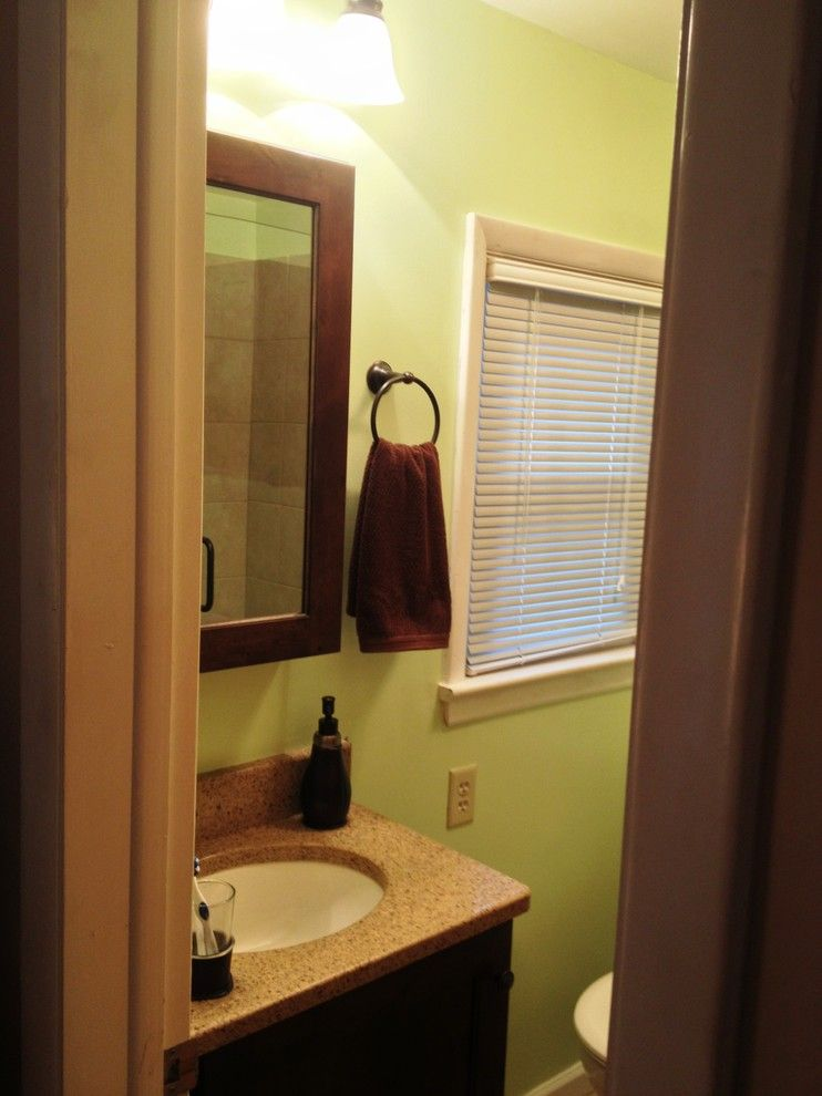 Zodiaq Countertops for a  Bathroom with a Custom Vanity and Schuler Master Bath   Carlisle by Lowes of Carlisle, Pa