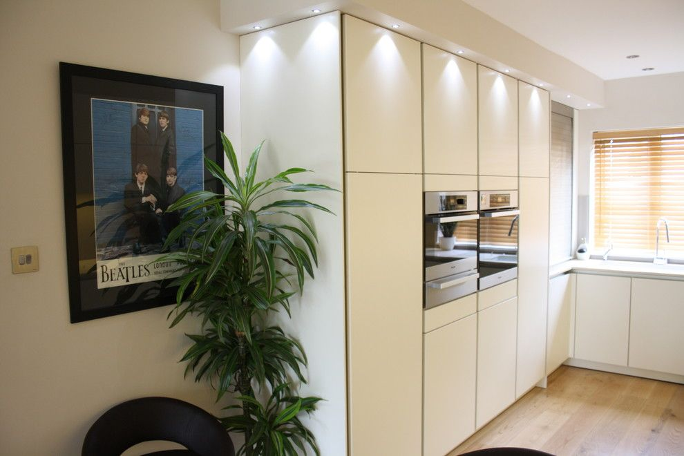 Zucchetti for a Contemporary Kitchen with a Contemporary Design and TW1 by John Roberts Design Ltd